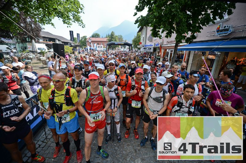Build up to the Salomon 4trails 8-11 July
